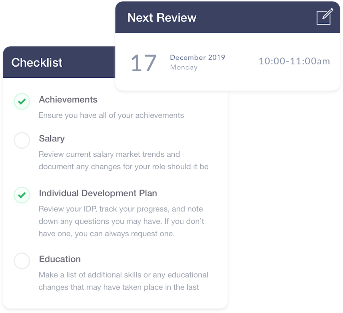 Clarify - Beat your performance review