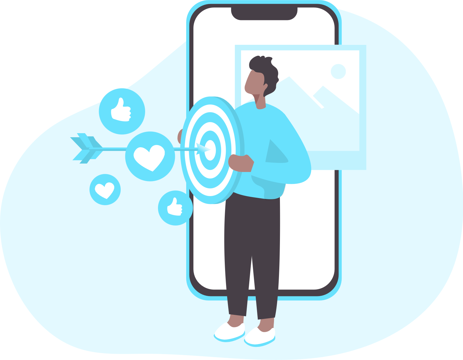 man-holding-a-board-bullseye-arrow-with-likes-and-heart-icon.png