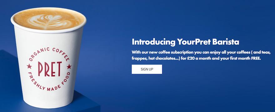Come salvare una catena vendendo caffè a 20 euro: la strategia di Pret a Manger