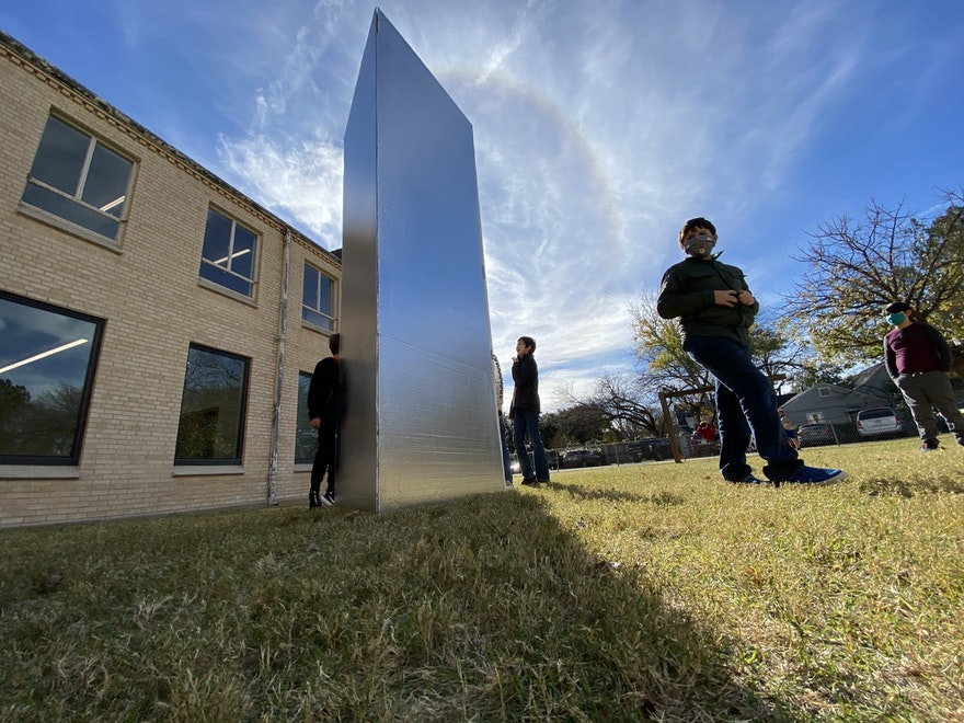BREAKING: Mysterious Monolith Appears on Dexter Campus