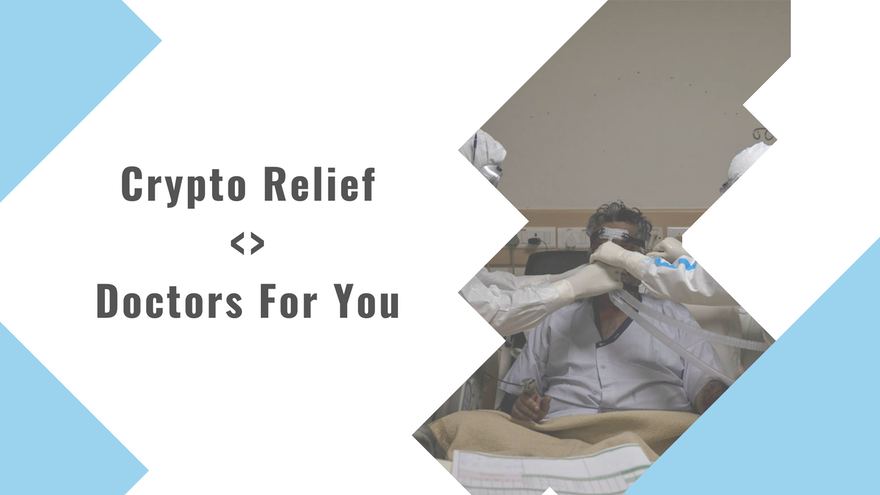 Crypto Relief partners with Doctors For You to strengthen Rural Covid Health centres