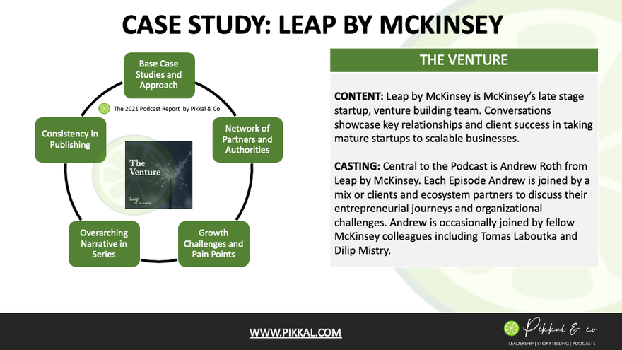Podcast Case Study: Leap by McKinsey