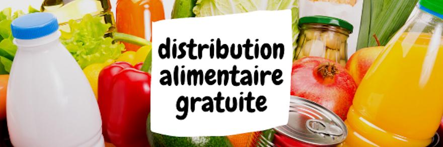 Distribution alimentaire gratuite pour les étudiants