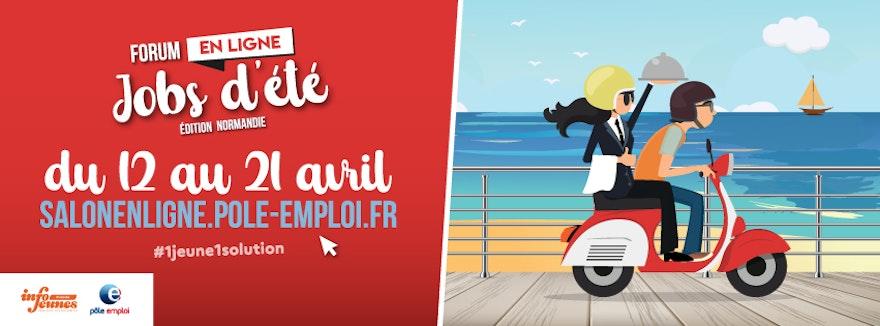 Salon en ligne jobs d'été en Normandie !