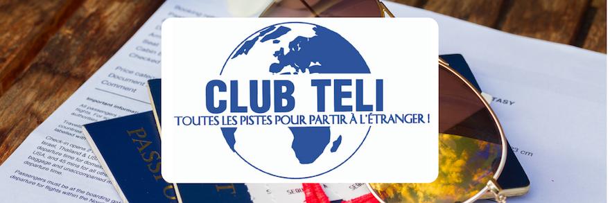 Club Teli : des offres de stages et jobs à l'étranger toute l'année