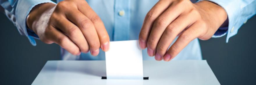 Pour voter, inscrivez-vous sur les listes électorales