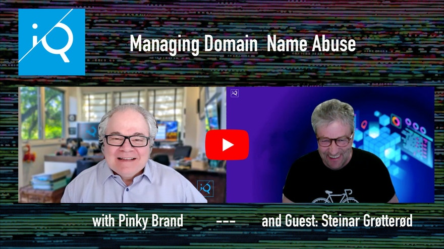 Managing Domain Name Abuse, with expert Steinar Grøtterød