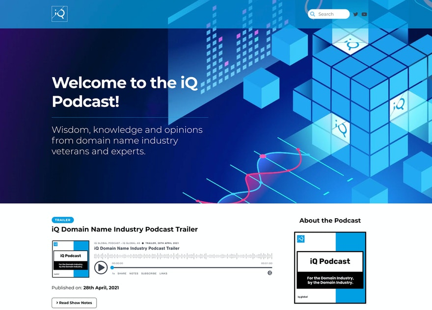Introducing the iQ Podcast