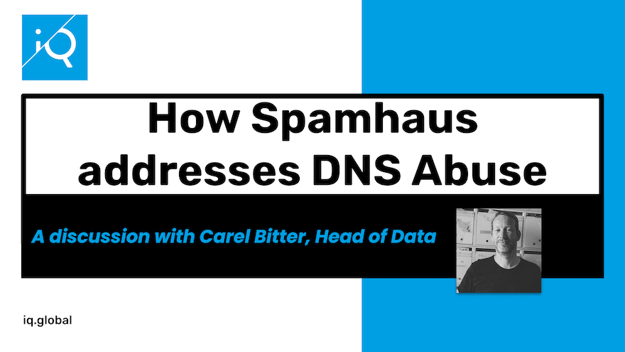 How Spamhaus addresses DNS Abuse