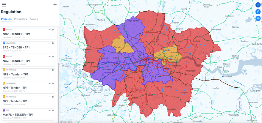 Product release: a Policy API Sandbox for London e-scooter tender