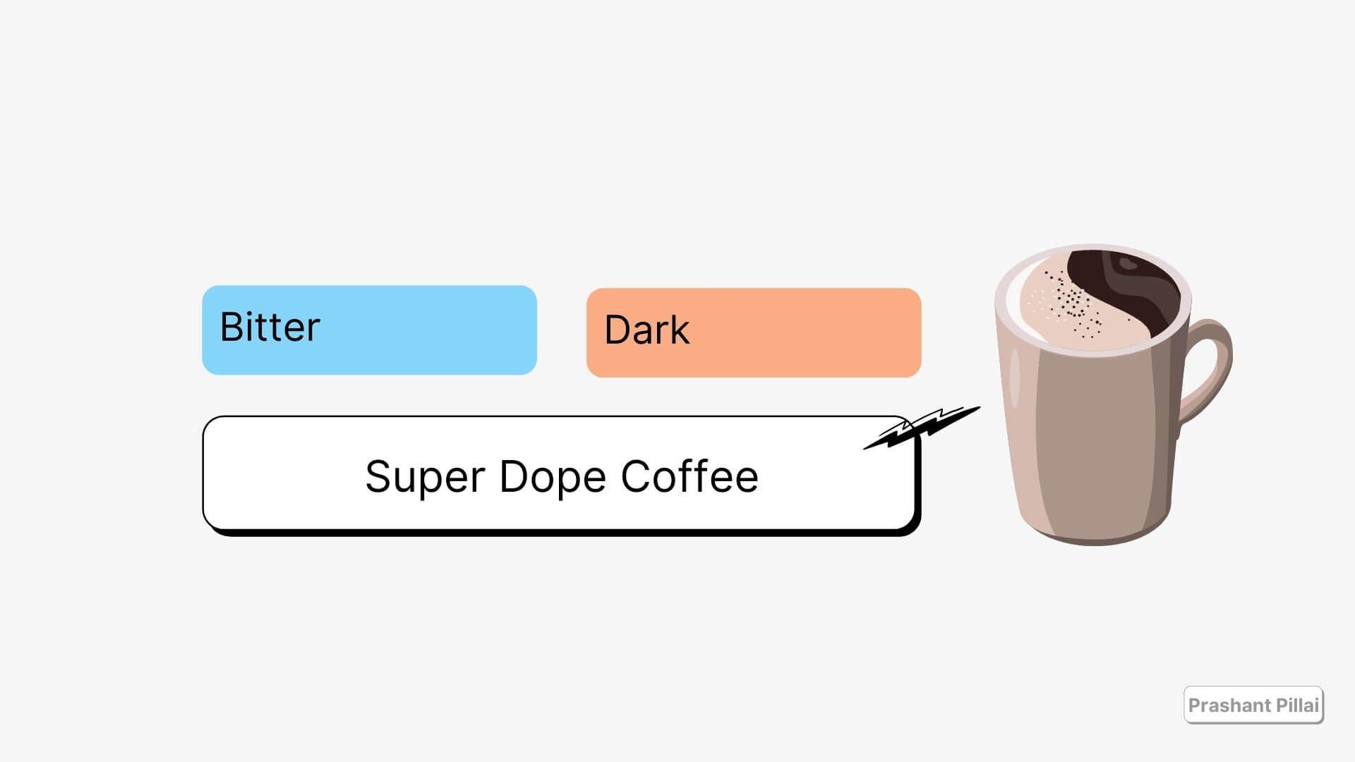 Black coffee is good