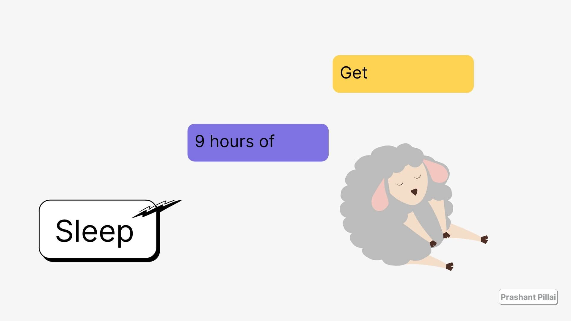 9 hours of sleep illustrations