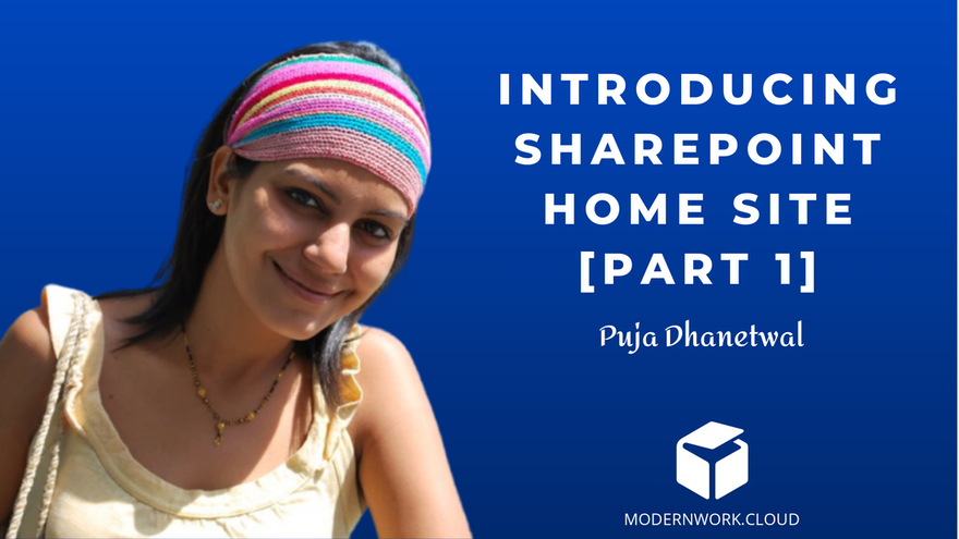 My initial impressions of setting up New SharePoint Home site