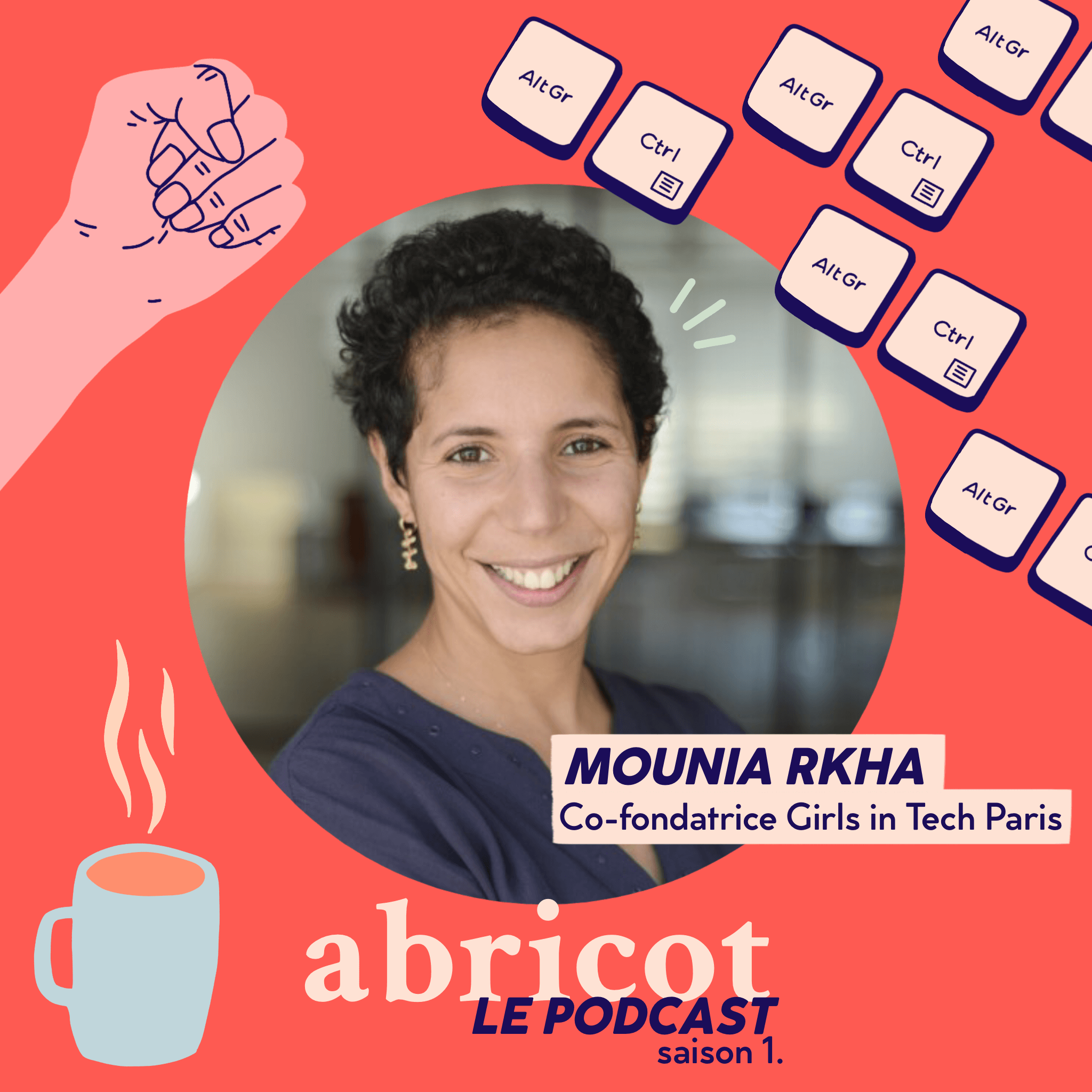 Podcast Abricot épisode 3. Mounia Rkha