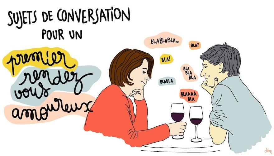 11 excellents sujets de conversation pour un premier rendez-vous