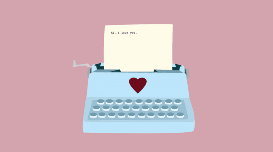 5 lettres romantiques écrites pour une femme
