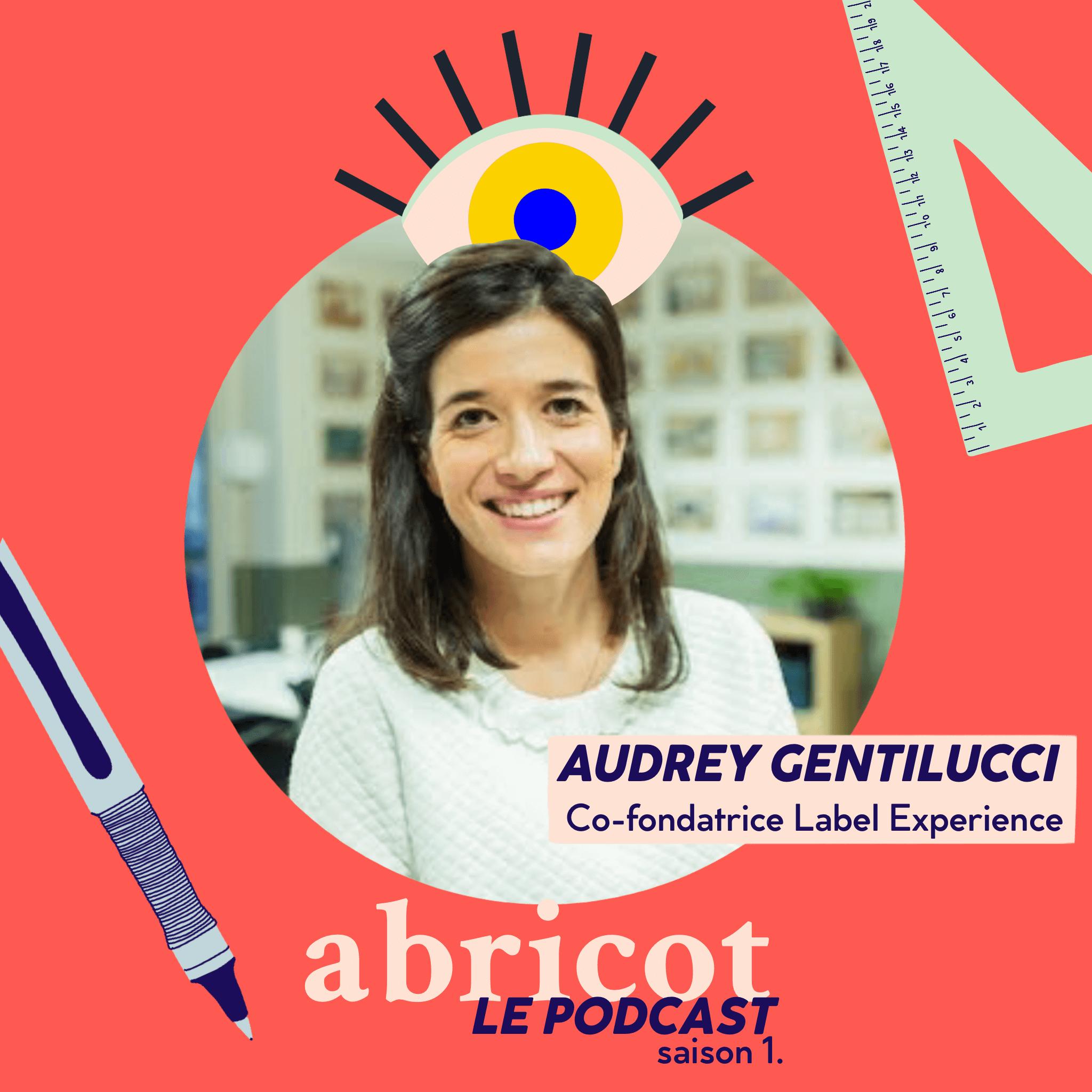 Podcast Abricot épisode 1. Audrey Gentilucci
