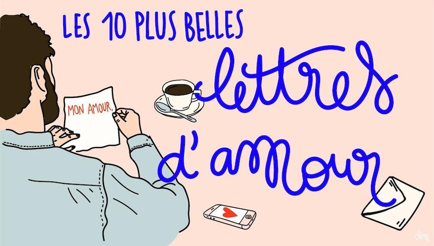 Les 10 plus belles lettres d'amour