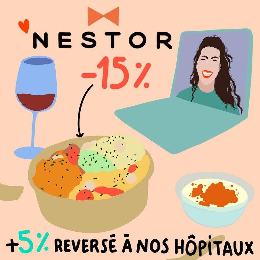 Abricot s'associe à Nestor pour un délicieux partenariat