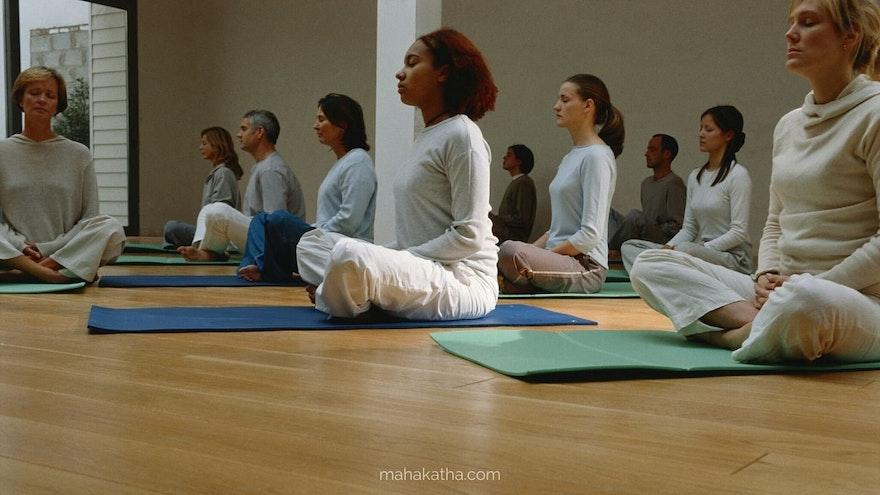 How to teach a meditation class