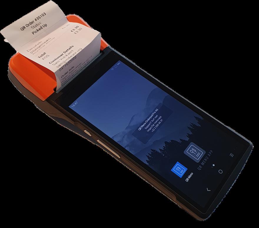 Mobiele bestellingen ontvangen, ook zonder kassasysteem