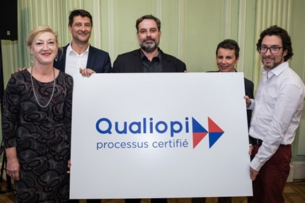 Qualiopi présentation du logo