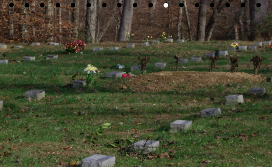 What is the role of the funeral home vs. cemetery?