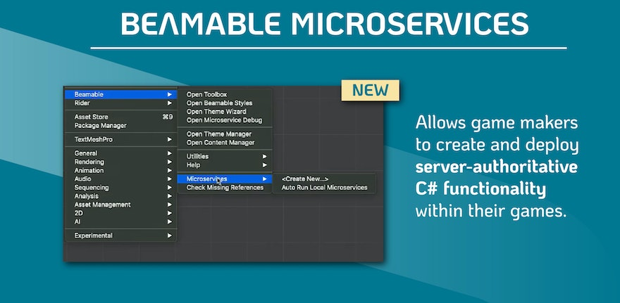 Replace your Game Server with Beamable C# Microservices