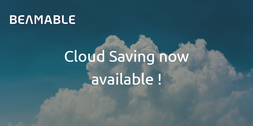 New Feature: Cloud Saves