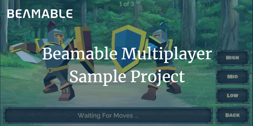 Beamable Unity Multiplayer Sample Project