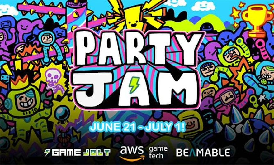 Beamable joins forces with Amazon Web Services and Game Jolt for Party Jam!
