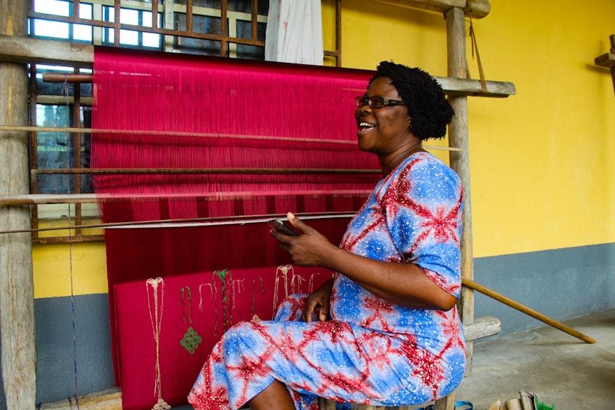 Conectando a través de los textiles, el arte de la artesanía