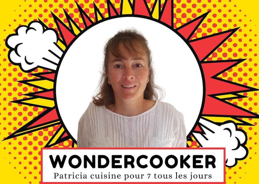 Wondercooker : Patricia cuisine pour 7 tous les jours