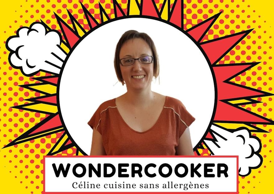 Wondercooker : Céline cuisine sans allergènes