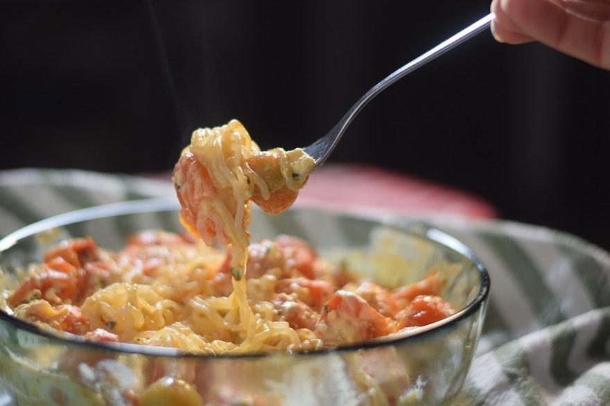 Pâtes Tiktok aux tomates et fêta