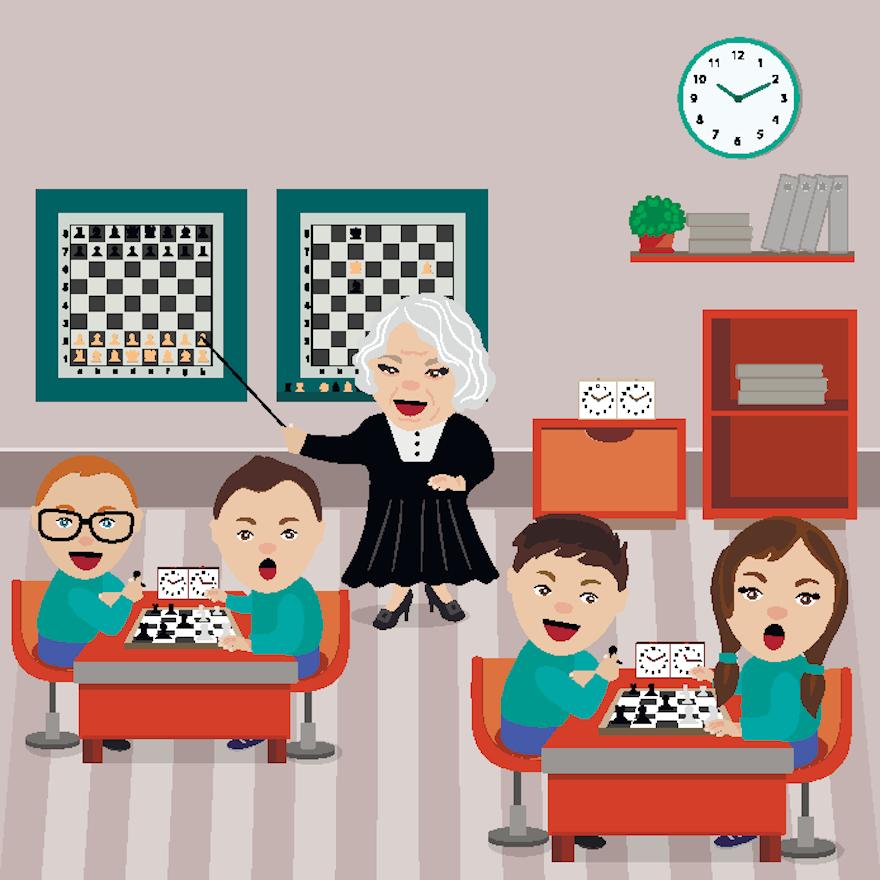Starting a School Chess Club - part 4