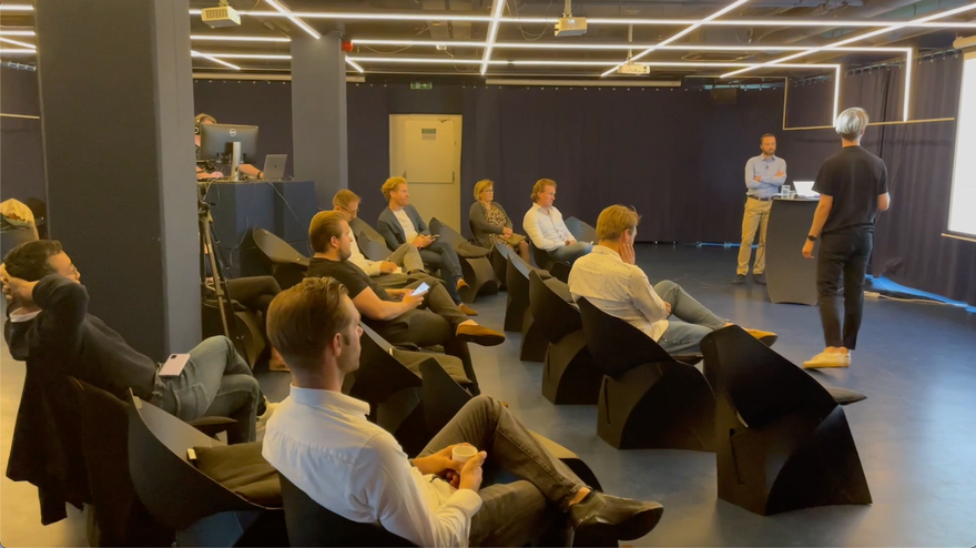 Hybride event - Dotslash & Business Eiland Utrecht