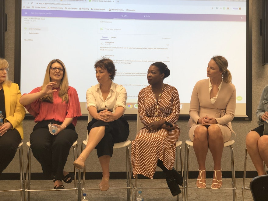 Q&A from Caia Live: Mental Health Month