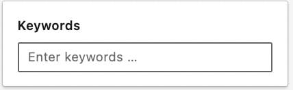 keyword filter sales navigator
