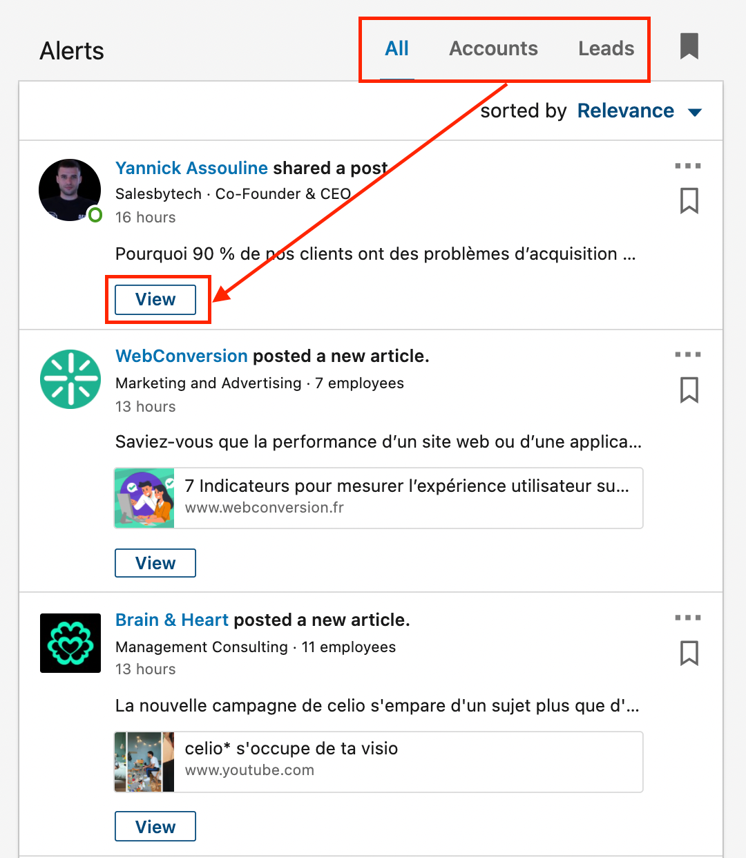 homepage linkedin sales navigator