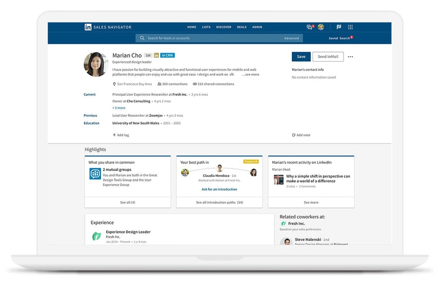 7 Linkedin Sales Navigator Features You Aren't Using (But Should Be!)