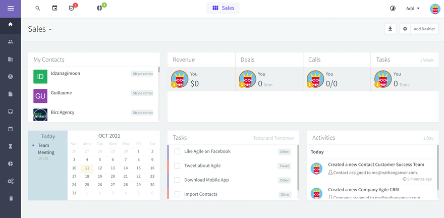 5 Best CRM with Stripe integration