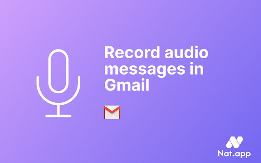 How to send voice emails in Gmail