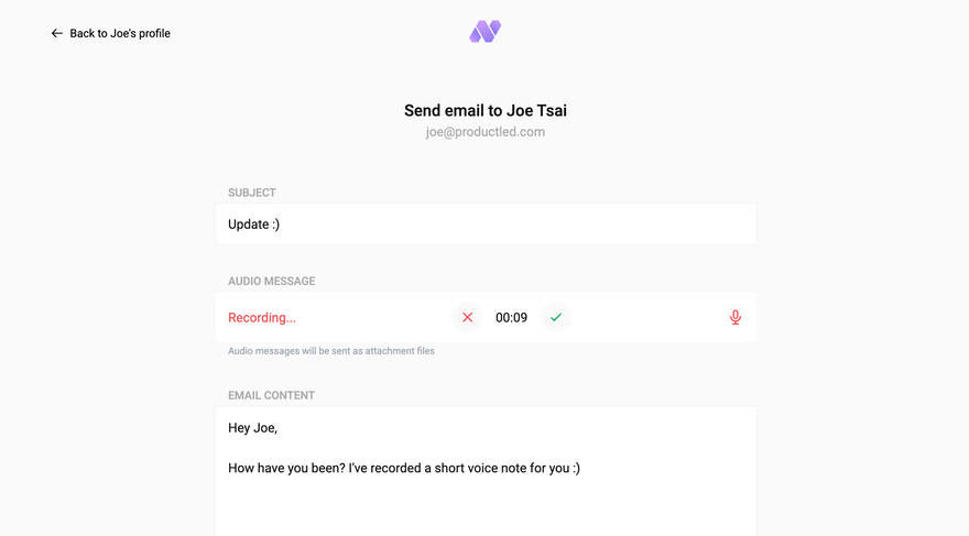 Email Sending: A simple way to send emails, directly on Nat.app