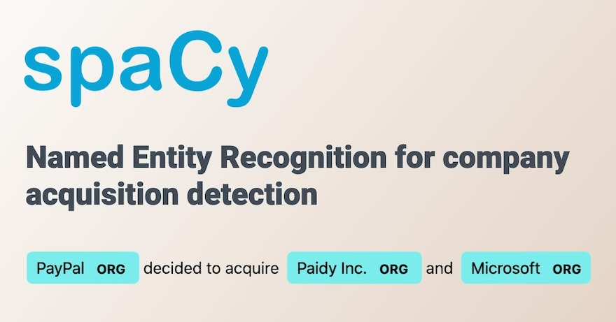 Named Entity Recognition with SpaCy [with code example]