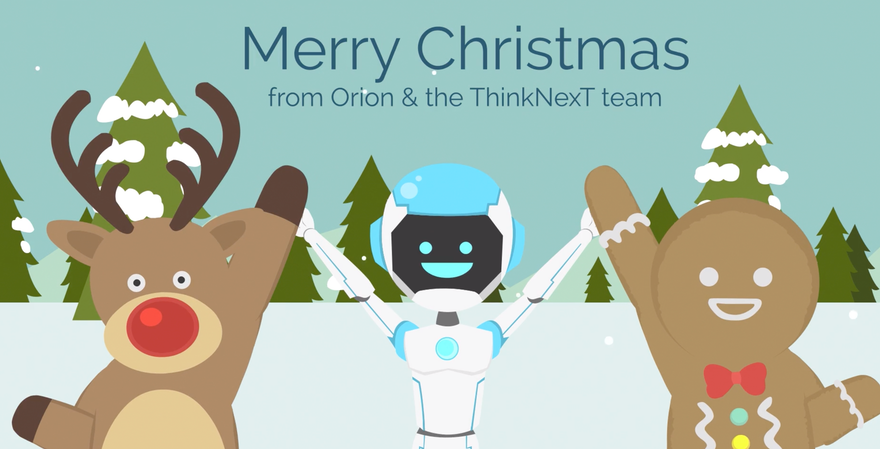 Merry Christmas from Orion