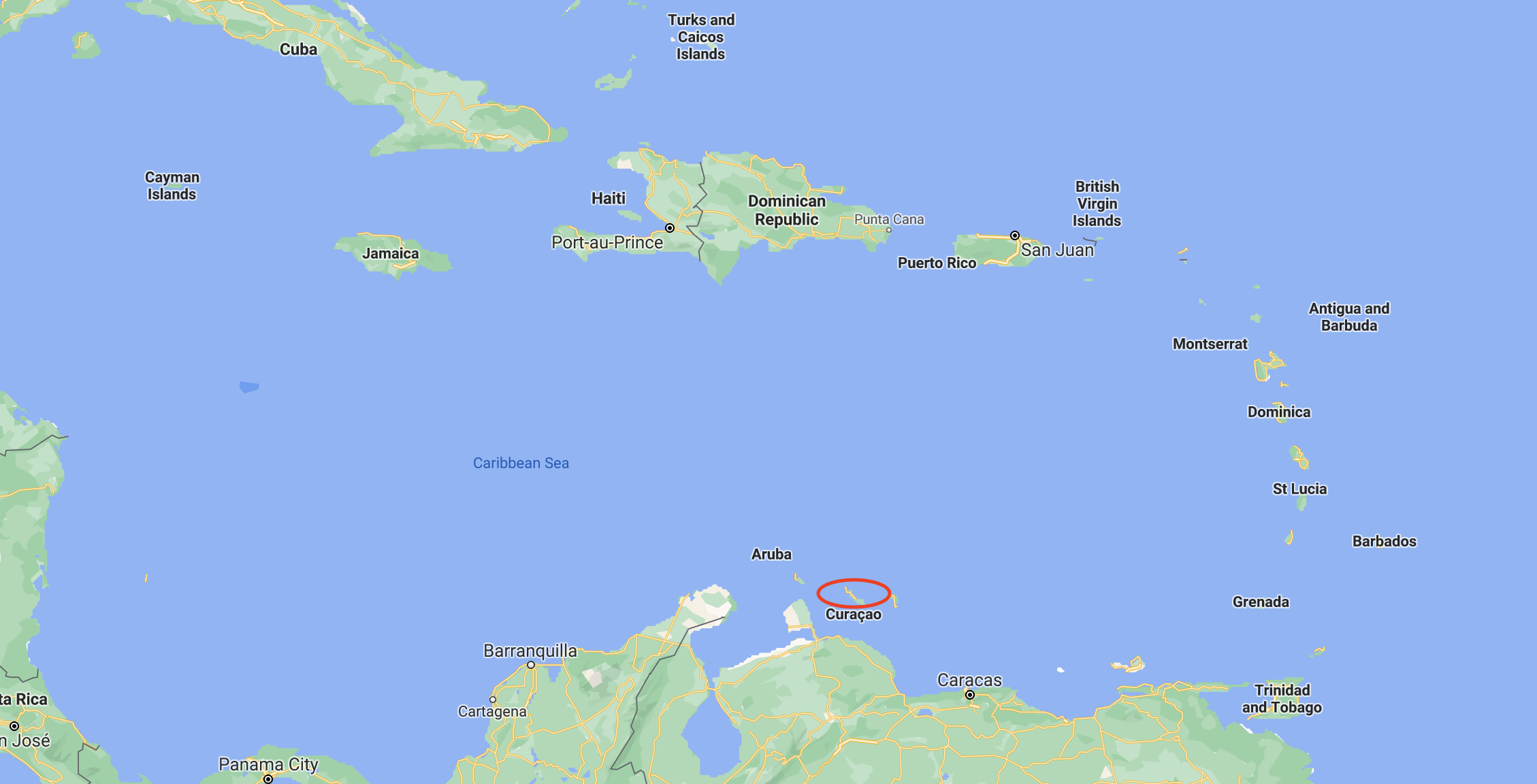 Curacao on a map.png