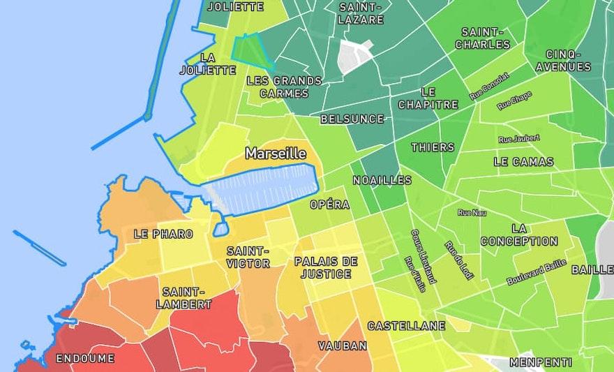 Prix m2 Marseille 2021 : 13000, marché immobilier, estimation