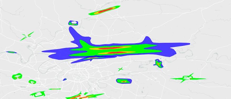 Etat des Nuisances Sonores Aériennes (l'ENSA)