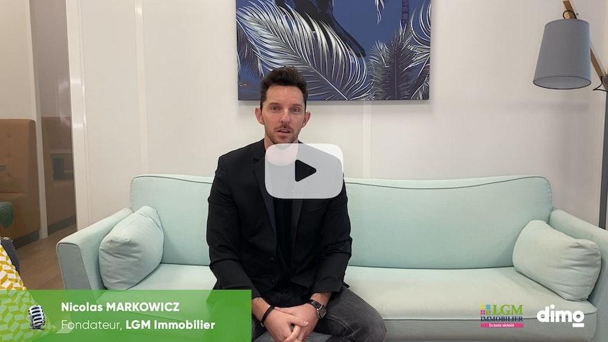 Marché de l'immobilier et COVID-19 : point de vue de Nicolas Markowicz, fondateur de LGM immobilier